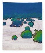 Juniper Field Fleece Blanket