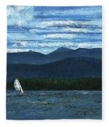 Juniper Island Lake Champlain Vt/ny Fleece Blanket