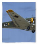 Junkers Ju-52 Fleece Blanket