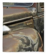 Junkyard Series Old Plymouth Fleece Blanket