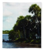Jupiter Florida Shores Fleece Blanket