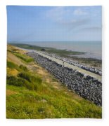Jurassic Coast Fleece Blanket