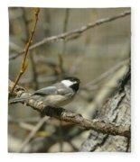 Just A Little Birdie Fleece Blanket