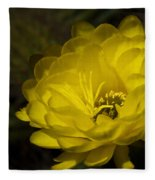 Just Call Me Mellow Yellow  Fleece Blanket