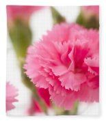 Just Carnations Fleece Blanket