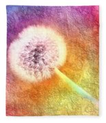 Just Dandy A Colorful Dream Fleece Blanket