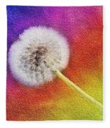 Just Dandy Rainbow 2 Fleece Blanket