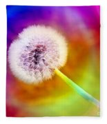 Just Dandy Taste The Rainbow Fleece Blanket