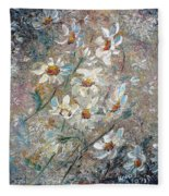Just Dasies Fleece Blanket