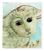 Just One Little Lamb Fleece Blanket