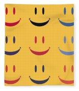 Just Smile Fleece Blanket