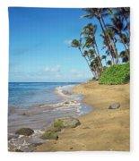 Ka'anapali Beach Fleece Blanket
