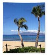 Kaanapali Maui Fleece Blanket