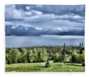 Kachemak Bay Fleece Blanket