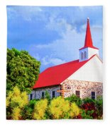 Kahikolu Congregational Fleece Blanket