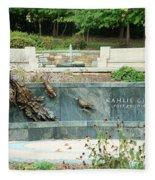 Kahlil Gibran Memorial Garden Fleece Blanket
