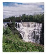 Kakabeka Falls Fleece Blanket