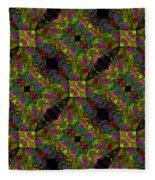 Kaleidoscope #1  Fleece Blanket