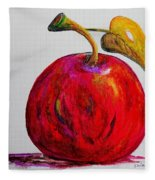 Kaleidoscope Apple -- Or -- Apple For The Teacher  Fleece Blanket