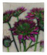 Kaleidoscope Bouquet Fleece Blanket