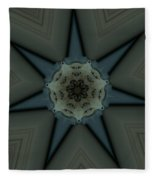 Kaleidoscope Star Fleece Blanket