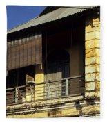 Kampot Old Colonial 02 Fleece Blanket