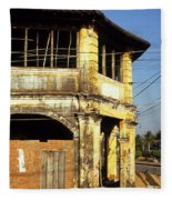 Kampot Old Colonial 03 Fleece Blanket