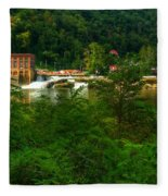 Kanawha Falls Fleece Blanket