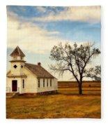 Kansas Church Fleece Blanket