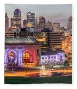 Kansas City 2 Fleece Blanket