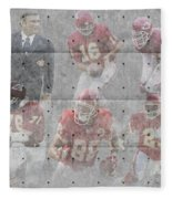 Kansas City Chiefs Legends Fleece Blanket