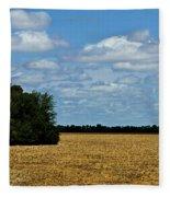 Kansas Fields Fleece Blanket