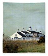 Kansas Landscape Fleece Blanket