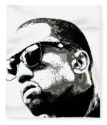 Kanye West Fleece Blanket