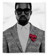 Kanye West  Fleece Blanket