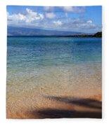 Kapalua Bay Maui Fleece Blanket