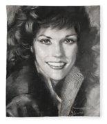 Karen Carpenter Fleece Blanket