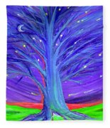 Karen's Tree 1 Fleece Blanket