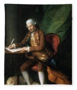 Karl Friedrich Abel (1725-1787) Fleece Blanket