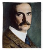 Karl Landsteiner (1868-1943) Fleece Blanket