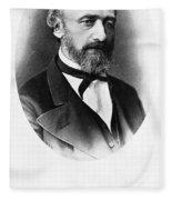 Karl Wunderlich (1815-1877) Fleece Blanket