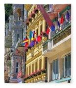 Karlovy Vary Fleece Blanket