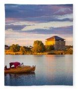 Karlskrona Boat Fleece Blanket