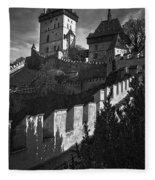 Karlstejn Castle Fleece Blanket