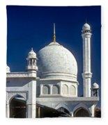 Kashmir Mosque Fleece Blanket