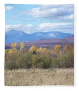 Katahdin From Staceyville 3 Fleece Blanket