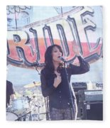 Katey Sagal Fleece Blanket