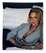 Katherine Heigl Fleece Blanket