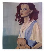 Katie - Teddy Bear Fleece Blanket