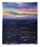 Kauai Sunset Fleece Blanket